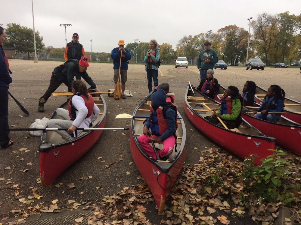 Canoe outing